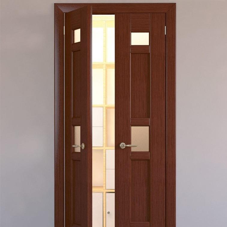 Двери двухстворчатые межкомнатные своими руками