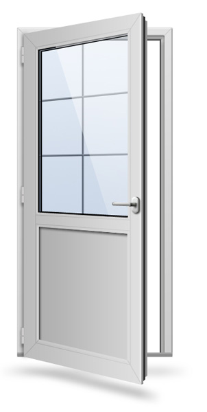 Входная дверь ПВХ